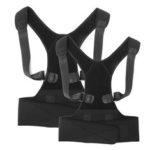 New              Magnetic Posture Waist Belt Humpback Corrector Correction Brace Children Adult
