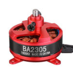 New              Racerstar RC Brushless Motor BA2305 1600KV Support 1S 2S 3S 8060 9050 Prop for Fixed Wing RC Airplane Drone