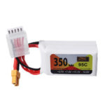 New              ZOP Power 14.8V 350mAh 95C 4S Lipo Battery XT30 Plug for RC Drone