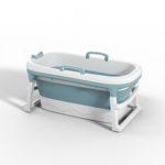 New              1.38m Large Thickened Bathtub Bath Barrel Adult Children's Folding Tub Basin Baby Swim Tub Sauna 2size