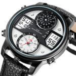 New              KAT-WATCH 5ATM Waterproof Dual Display Watch
