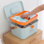 New              Medicinee Box Pill Storage Container Household Travel Organiser First Aid Case