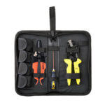 New              PARON Jx-d4143 Multi-functional Four-in-one Line Pressing Suit Easy Carrying Terminals Pliers Kit