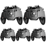 New              5Pcs MEMO AK88 Gamepad Six Fingers Joysticks Game Controller for PUBG for iOS Android Mobile Games