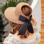 New              Women UV Protection Straw Hat