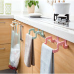 New              Plastic Garbage Bag Rack Portable Hanging Trash Rubbish Bag Storage Rack  Rack Storage Kitchen Garbage Rubbish Bag Can Holder Hanging Kitchen Cabinet Trash