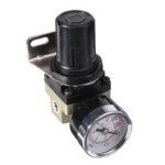 New              LAIZE SMC AR2000-02 Air Pressure Regulator Pneumatic Pressure Regulator Valve 1/4 Inch Port for Compressed Air System