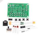 New              SSY Components + PCB Board + 2 Battery Boxes KT0837 FM Radio Kit Electronic DIY Production Kit Training Welding Parts