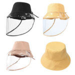 New              ZANLURE Detachable Fisherman Bucket Hat Transparent Protective Mask Hat Anti-Fog Saliva Fishing Hiking