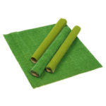 New              2Pcs Model Grass Mat Artificial Train Grass Mat Lawn Paper for DIY Train Railroad Scenery Landscape Decorations