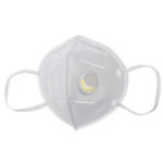 New              KN95 Anti-foaming Splash Proof PM2.5 Face Mask with Breathing Valve