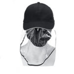 New              Anti-spitting Cover Eyes Protective Shopping Fisherman Baseball Hat Cap Cover Unisex