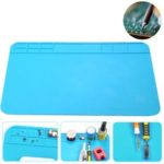 New              Heat Insulation Silicone Pad Desk Mat Soldering Iron Repair Maintenance Tool Pad