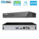 New              SOVMIKU SFNVR H.265 16CH 5MP CCTV NVR Mootion Detect CCTV Network Video Recorder ONVIF P2P For IP Camera 4MP/3MP/2MP Security System