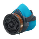 New              Half Face Respirator Dust Gas Mask Painting Spray Woodworking Polishing Protect