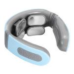 New              USB Upgrade Neck Protector 4-Head Smart Electric Pulse Shoulder Neck Massager Electric Massager W/ 5 Massage Modes