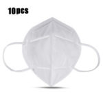 New              10Pcs KN95 FFP2 4-Layer Self-priming Filter Respirators Face Mask Breathable Dust Filter Masks