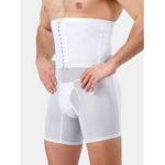 New              Mens High Waist Slimming Underwear Tummy Control Thin Breathable Shapewear