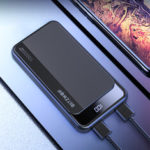New              BlitzWolf® BW-P12 10000mAh 22.5W Digital Display QC3.0 PD3.0 SCP Dual Output Input Smart Power Bank for iPhone 11 Pro XR for Samsung S20 Xiaomi Huawei