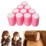New              10Pcs Soft Foam Curlers Hair Rollers Curling Accessories Women Sleeping Hair Styling
