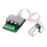 New              PWM DC Motor Speed Regulator 12V24V10A+ Speed Regulating Small Board Controller