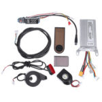 New              36V 350W Motor Controller+Dashboard+Front/Rear Light For Xiaomi Scooter Electric Bicycle E-bike