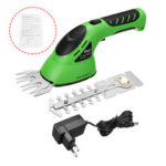 New              2 In 1 Rechargeable Cordless Pruning Shears Grass Lawn Mower Garden Hedge Trimmer