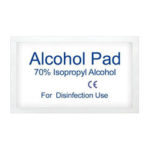 New              100pcs Sterilization Alcohol Prep Pads Phone Tablet Laptop Cleaning Wet Wipes