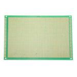 New              1pcs 12*18cm 12X18cm FR4 Single-Sided PCB Experiment Printed Circuit Board Epoxy Glass Fiber FR-4 Green Prototype Universal
