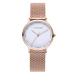 New              VAVA VOOM VA-36DD Fashion Casual Waterproof Stainless Steel Strap Women Quartz Watch