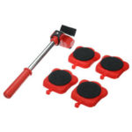 New              Heavy Furniture Moving Wheel Lifter Roller Transport Shifter Slider Remover