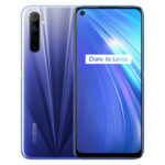 New              Realme 6 IN Version 6.5 inch FHD+ 90Hz Ultra Smooth Display 120Hz Touch-Sensing Android 10 4300mAh 30W Flash Charge 64MP AI Quad Rear Cameras 3-Card Slot 4GB 64GB Helio G90T Octa Core 4G Smartphone