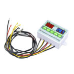 New              ST3012 Digital LED Dual Thermometer Temperature Sensor Controller Thermostat Incubator Temperature Control Microcomputer with Dual Probe AC 220V/12V/24V