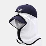 New              Sunshade Yarn Fishing Hat Sunscreen Breathable Sunscreen Shade Hat Accessories