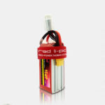 New              RED Lipo 7.4V 1500mAh 2S 25C High Rate Lipo Battery XT60/T Plug for RC Airplane Fixed Wing RC Drone