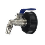 New              1/2 Inch S60x6 IBC Water Tank Adapter Tap Outlet Replacement Valve Fitting for Home Garden Water Connector