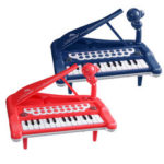New              25 Key Electronic Keyboard Piano Baby Kids Musical Educational Toy Birthday Gift