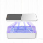 New              KEPHE LED UV Sterilizer Box Wireless Charger For Phone Comestics Personal Care Tools UV Rechargeable Smart Phone Disinfection Box