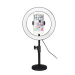 New              6500K 120 LED Ring Light Dimmable Kit Stand Phone Clip for Video Studio Make up