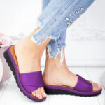 New              Women Casual Wedges Beach Slide Sandals