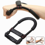 New              Forearm Wrist Arm Strength Exerciser Hand Gripper Fitness Training Home Workout Exercise Tools