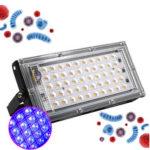 New              30W UV Disinfection Lamp Ozone Disinfection Violet Wavelength Fluorescent Light Detection 110V 220V UV Sterilizer Lamp