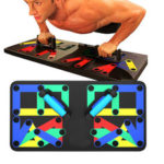 New              14 In 1 Multi Function Folding Push Up Board Home Gym Muscle Training Fitness Exercise Tools