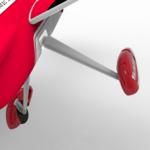New              Volantex Saber 920 756-2 RC Airplane Spare Part Front Landing Gear
