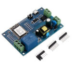 New              10pcs ESP-12F AC/DC Power Supply ESP8266 AC90-250V/DC7-12V/USB5V WIFI Single Relay Module Development Board