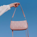 New              Women Dotted Daisy Printed Shoulder Bag Crossbody Bag