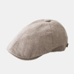 New              Mens Cotton Beret Caps Casual Outdoor Visor Forward Hat