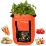New              Gardening Potato Planting Growing Bag Vegetable Plant Breathable Moisturizing for Outdoor Tree