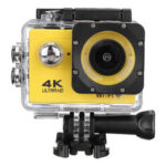 New              4K Action Camera WiFi Sports Camera Ultra HD 30M 170° Wide Angle Waterproof DV Camcorder with EIS Gyroscope Dual Anti Shake