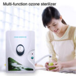 New              High Quality 600mg/h 220V 110V Ozone Generator Ozonator ionizer O3 Timer Air Purifiers Oil Vegetable Meat Fresh Purify Air Water
